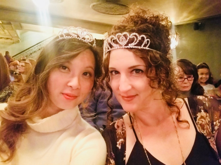Yingka and Carla at Anastasia the Musical