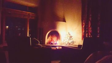 Fireplace Night