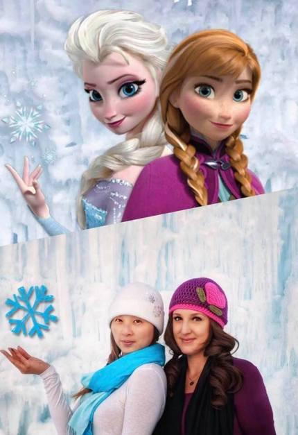 Frozen Side by Side