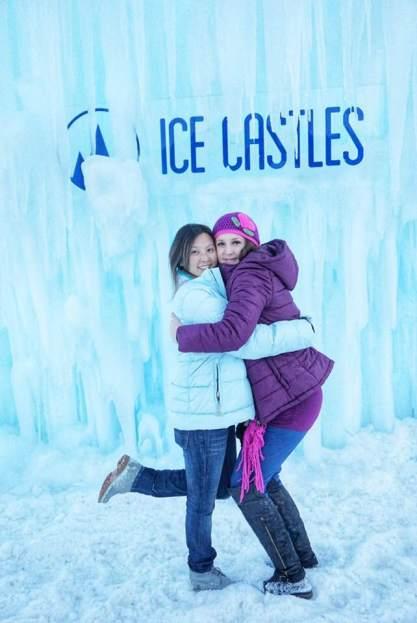 Ice Castle Warm Hugs