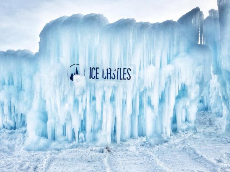 Ice Castles Logo Wall