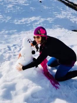 Snowman Warm Hugs