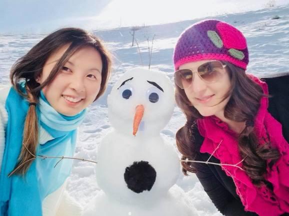 We Build a Snowman