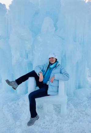 Yingka on Ice Throne