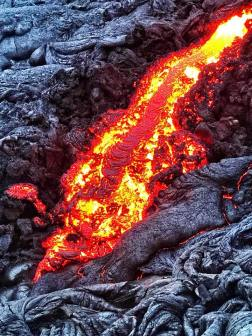 Big Section of Lava