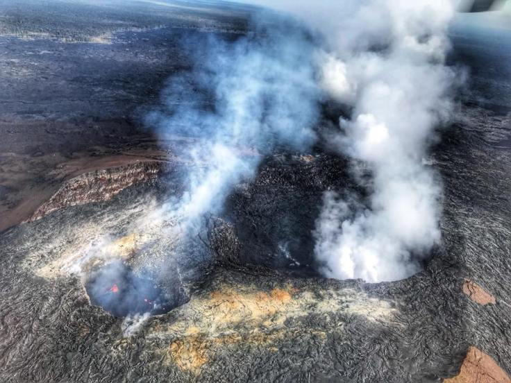 Craters and Lava Lakes