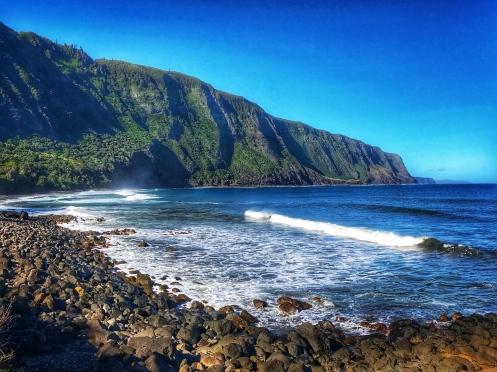 Kalaupapa - Rocky Beach