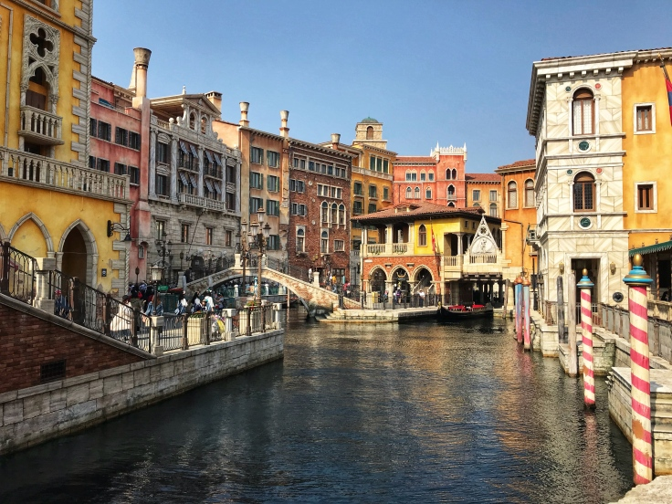 DisneySea Canal
