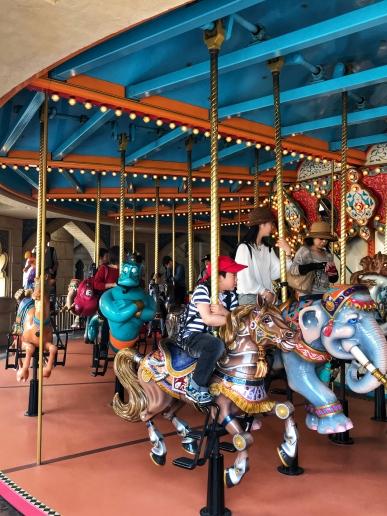 DisneySea Carousel