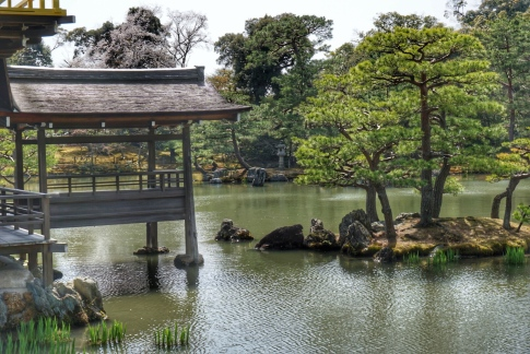 Golden Pavilion Lake 5