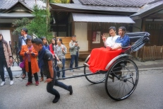 Rickshaw Tourists