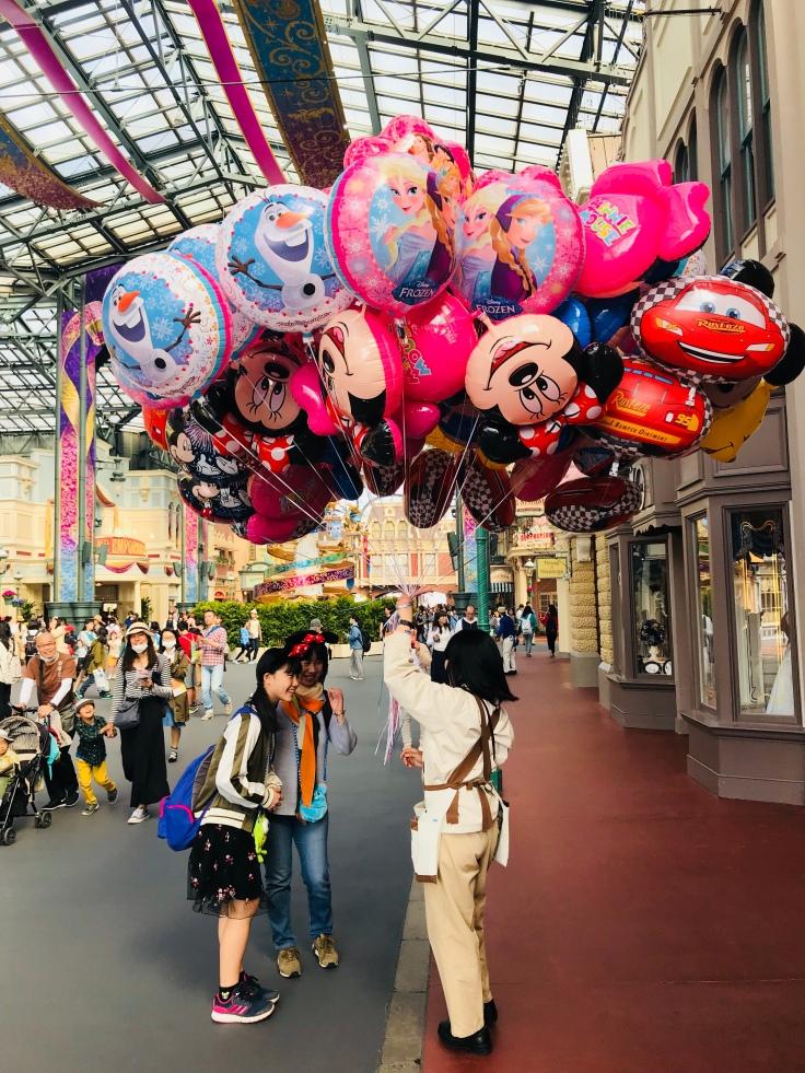 Tokyo Disney Balloons
