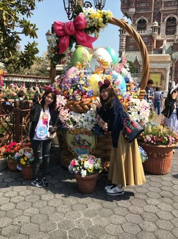 Tokyo Disney Easter Photo Opp