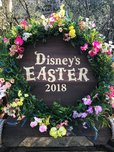 Tokyo Disney Easter Sign