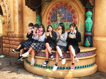 Tokyo Disney Group Shot