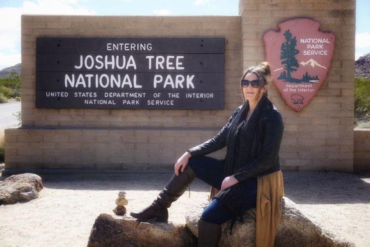 Joshua Tree Sign